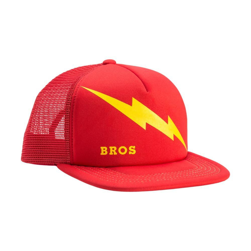 Howler Brothers Lightning Bolts Snapback CAMPUS_RED