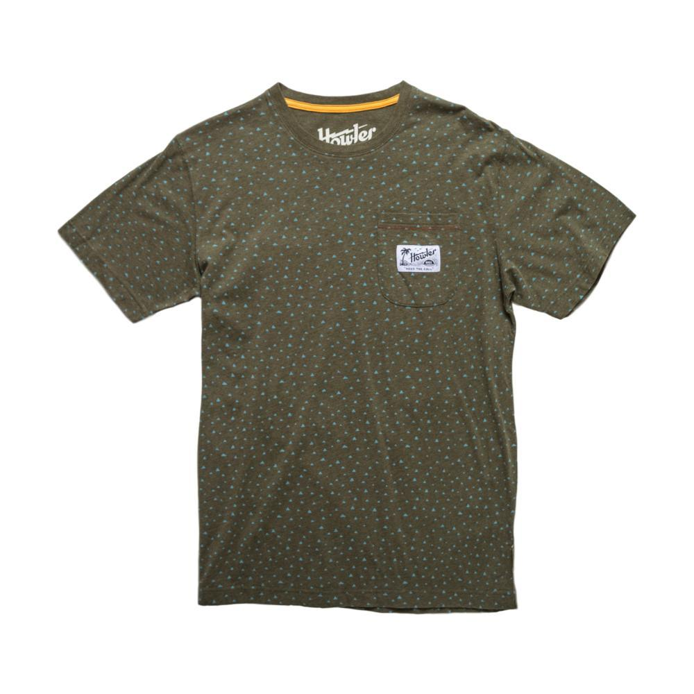 Howler Bros. Men's Cheops Print Pocket T-Shirt GREENBLUE