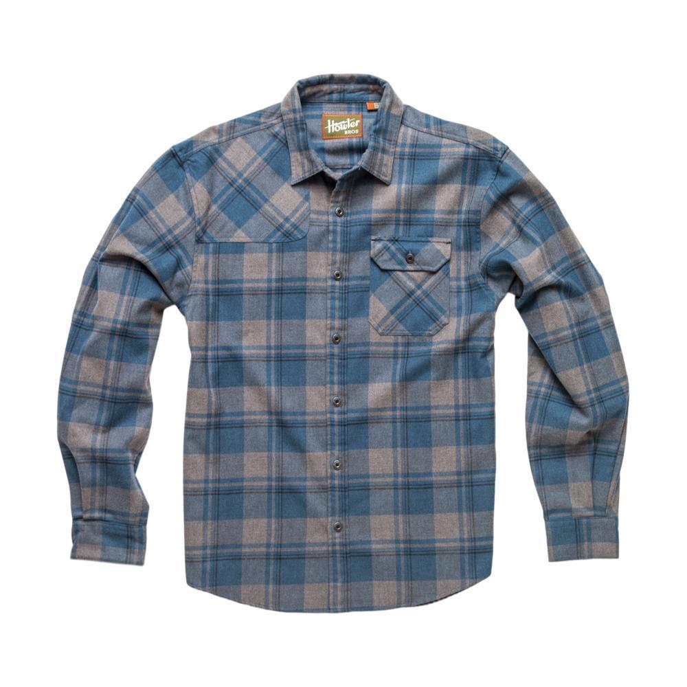 Howler Brothers Mens' Harker's Flannel Shirt BLUEGREY