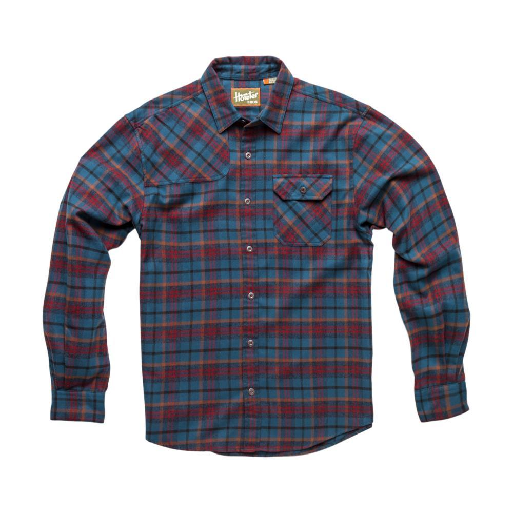 Howler Brothers Men's Harker's Flannel Shirt BLUERED
