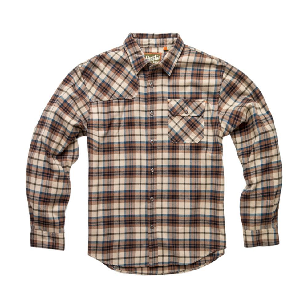 Howler Brothers Mens' Harker's Flannel Shirt BRWNTAN