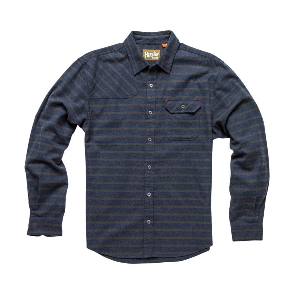 Howler Brothers Mens' Harker's Flannel Shirt NAVYGREN