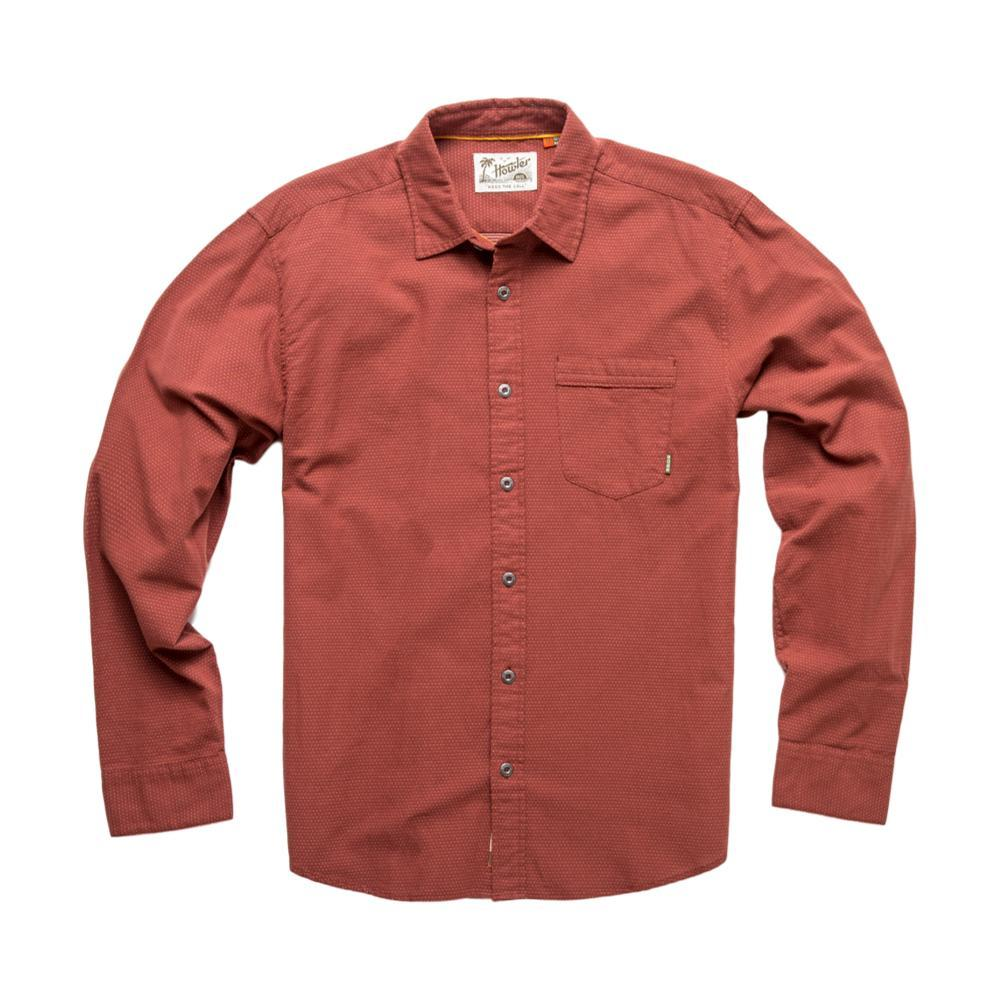Howler Brothers Men's Colima Longsleeve Shirt RED