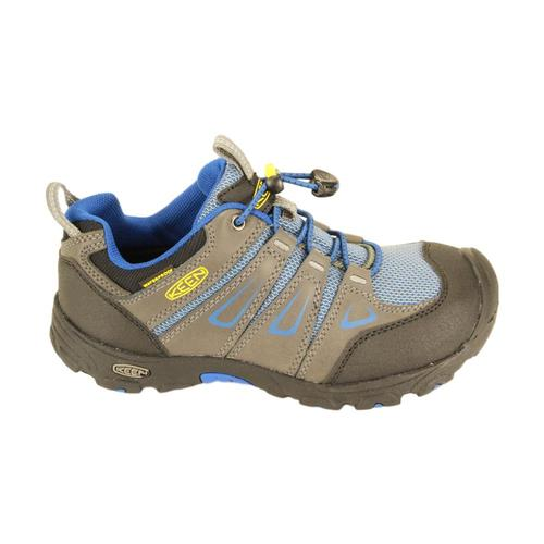 KEEN Big Kids Oakridge Waterproof Shoes Magnet_blu