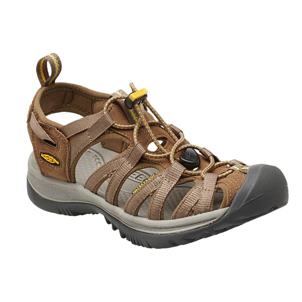 Keen Women's Whisper Sandals COFFEEYELLOW