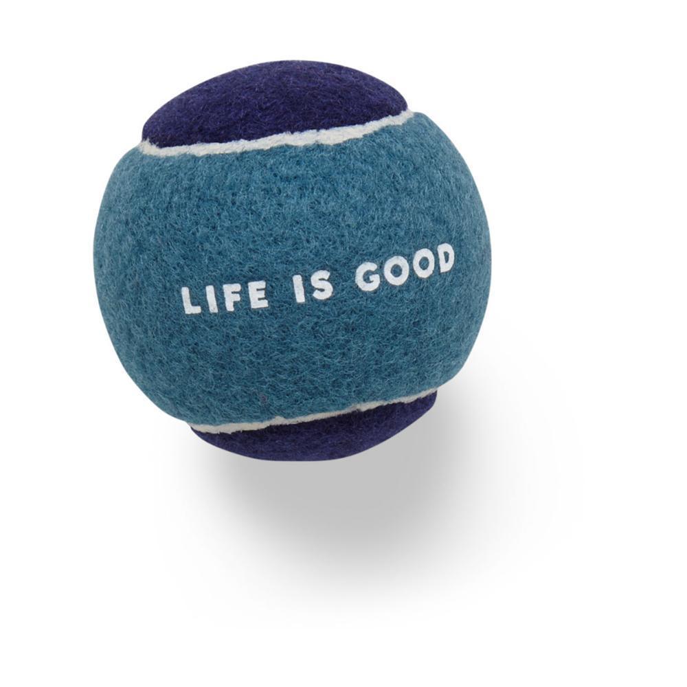 Life is Good Dog Tennis Ball BRT_TEA