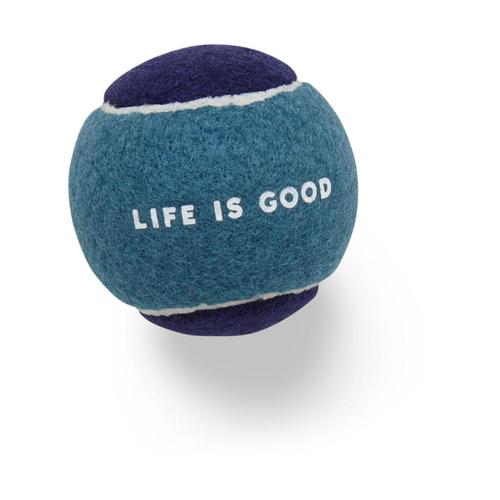 Life Is Good Dog Tennis Ball