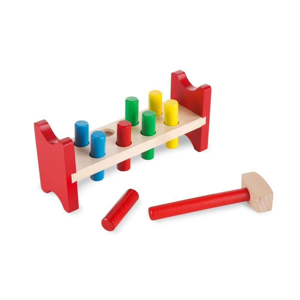 Melissa & Doug Pound- A- Peg Classic Toy