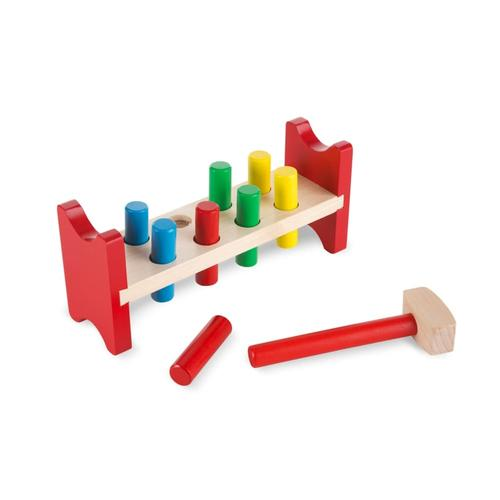 Melissa & Doug Pound-a-Peg Classic Toy