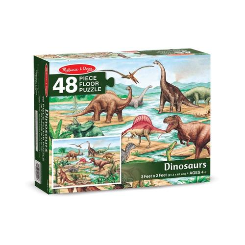 Melissa & Doug Dinosaurs Floor Puzzle - 48 Pieces Dinosaur