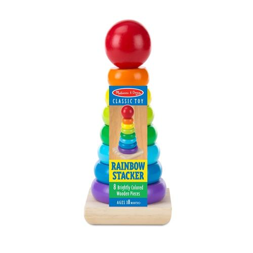 Melissa & Doug Rainbow Stacker Classic Toy