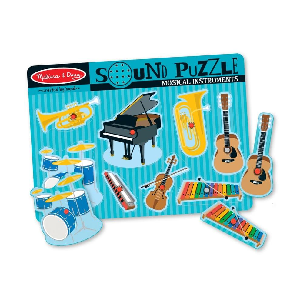 Melissa & Doug Musical Instruments Sound Puzzle - 8 Pieces MUSIC_INSTRMTS