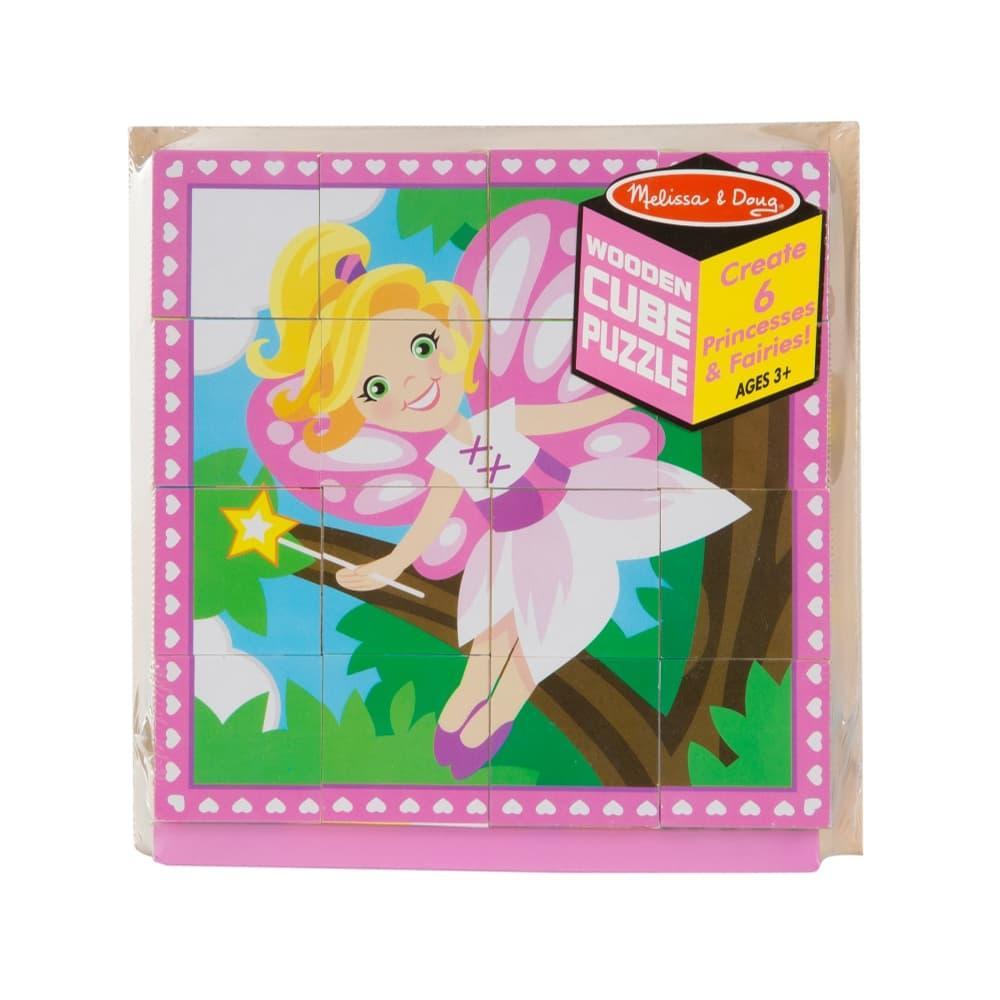 Melissa & Doug Princesses & Fairies Cube Puzzle