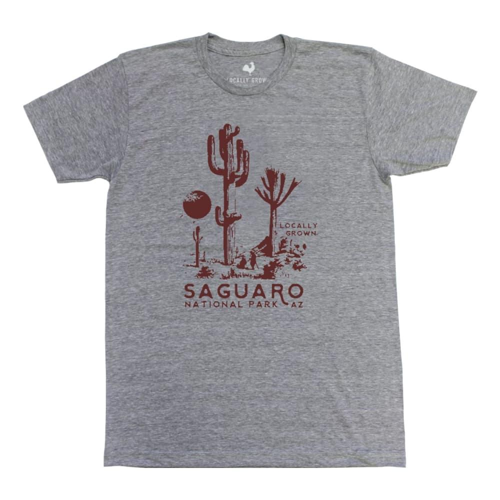 Locally Grown Unisex Saguaro National Park Tee VINGREY