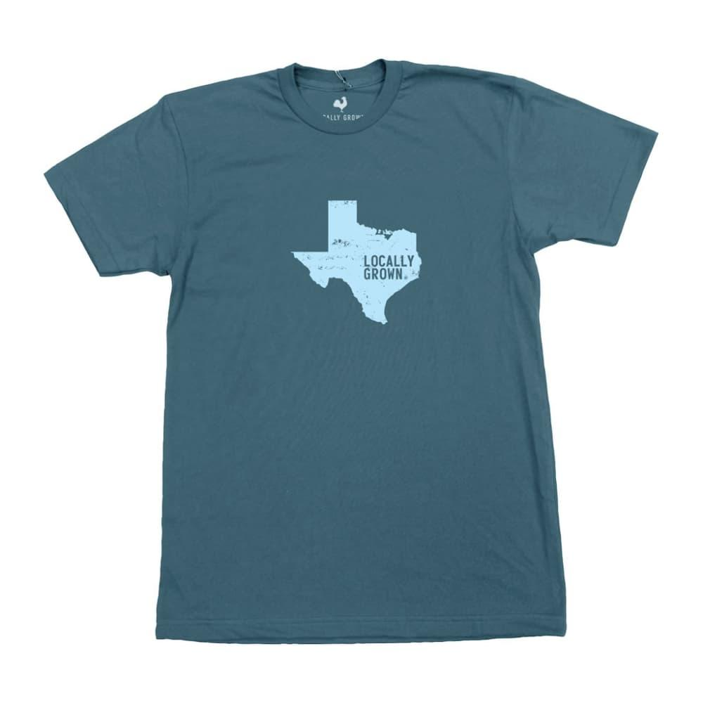 Locally Grown Unisex Texas Solid State Tee HURON
