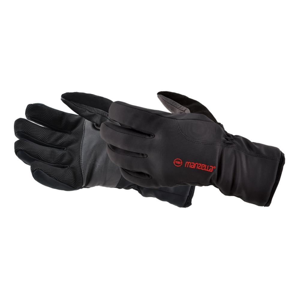 Manzella Men's Versatile Outdoor Gloves BLACK