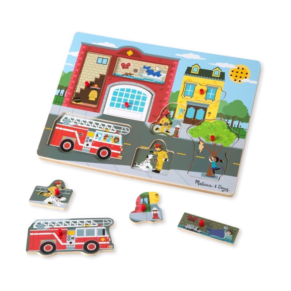 Melissa & Doug Fire Station Sound Puzzle