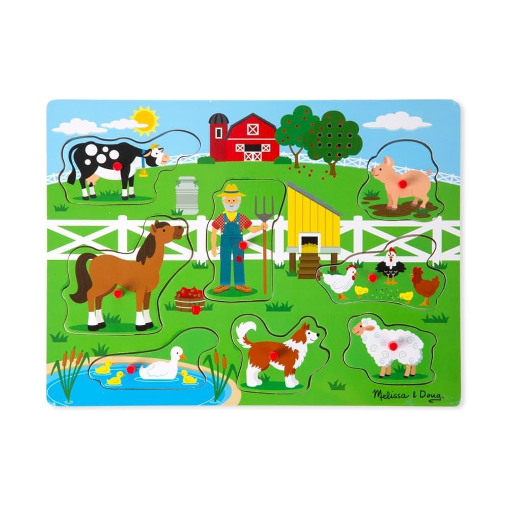 Melissa & Doug Old MacDonald's Farm Sound Puzzle OLD_MCDONALDS_FARM