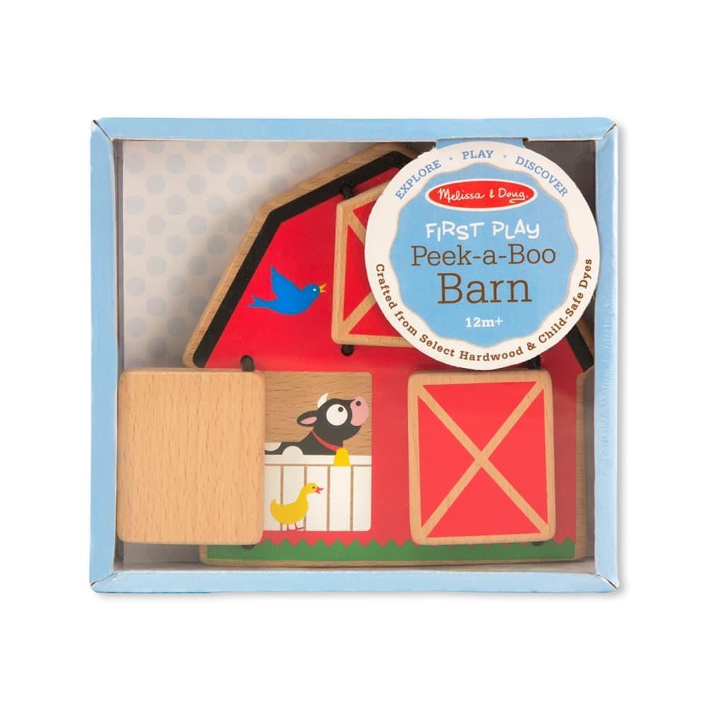 Melissa & Doug Peek- A- Boo Barn Baby & Toddler Toy
