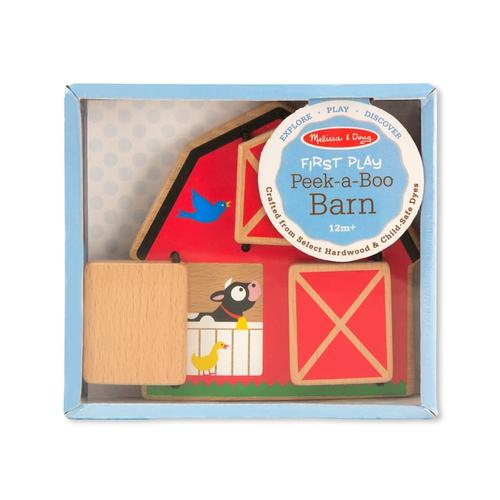 Melissa & Doug Peek-A-Boo Barn Baby & Toddler Toy