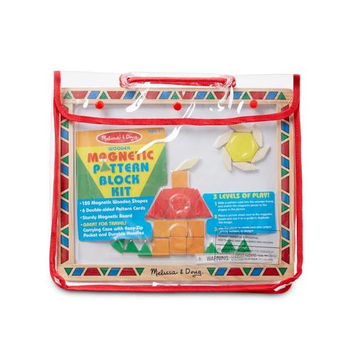 Melissa and Doug Magnetic Pattern Block Kit