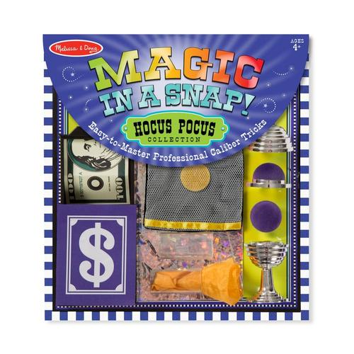 Melissa & Doug Magic Set In A Snap! Hocus Pocus Collection