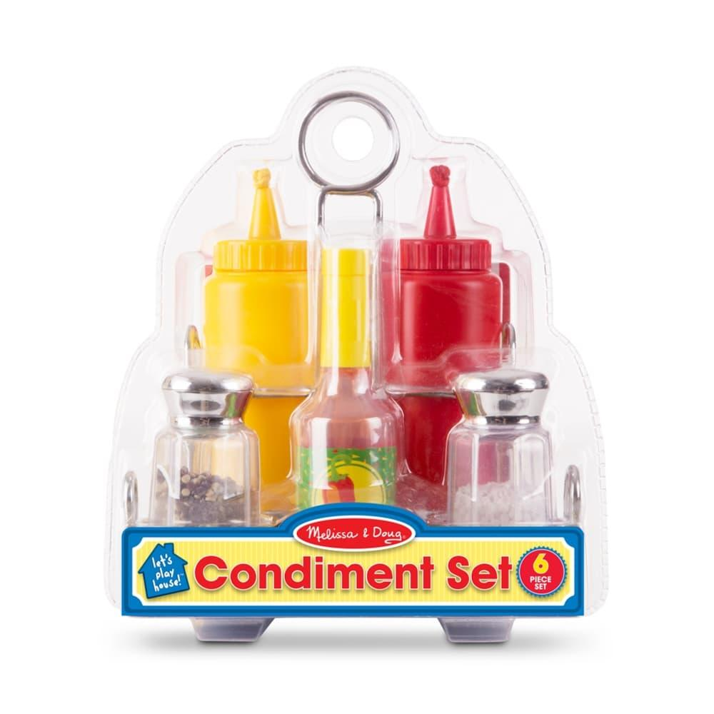 Melissa & Doug Let's Play House! Condiment Set