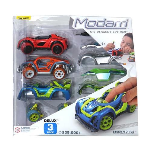 Modarri Delux 3-Car Set 3pack