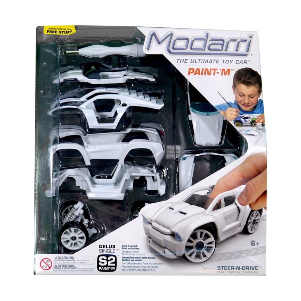 Modarri Delux S2 Paint- It Car Set
