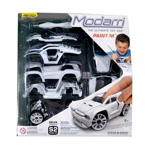 Modarri Delux S2 Paint-It Car Set Single