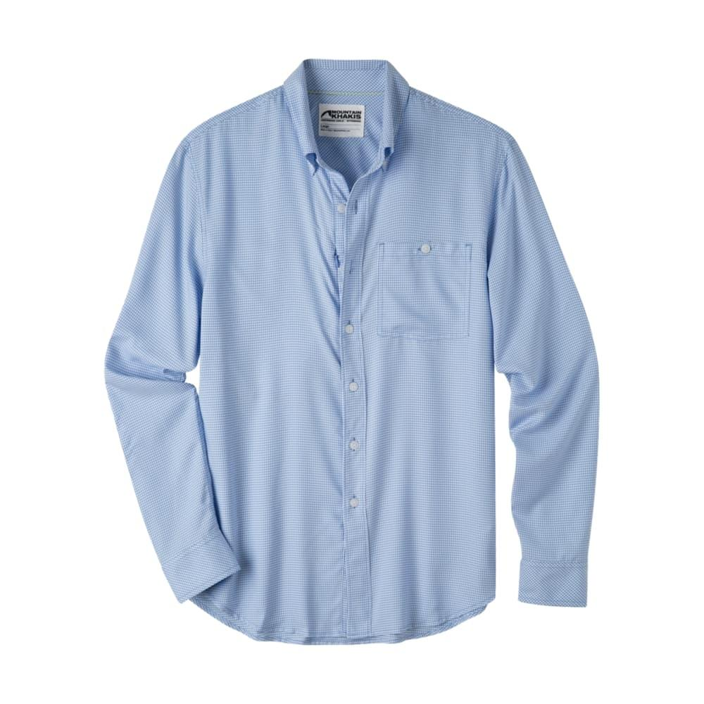 Mountain Khakis Men's Passport EC Long Sleeve Shirt LARKSPUR