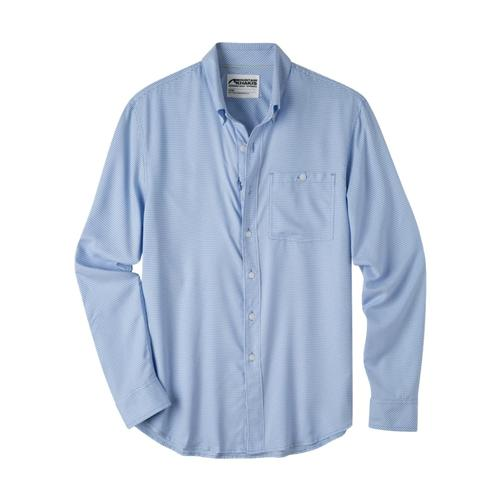 Mountain Khakis Men's Passport EC Long Sleeve Shirt Larkspur