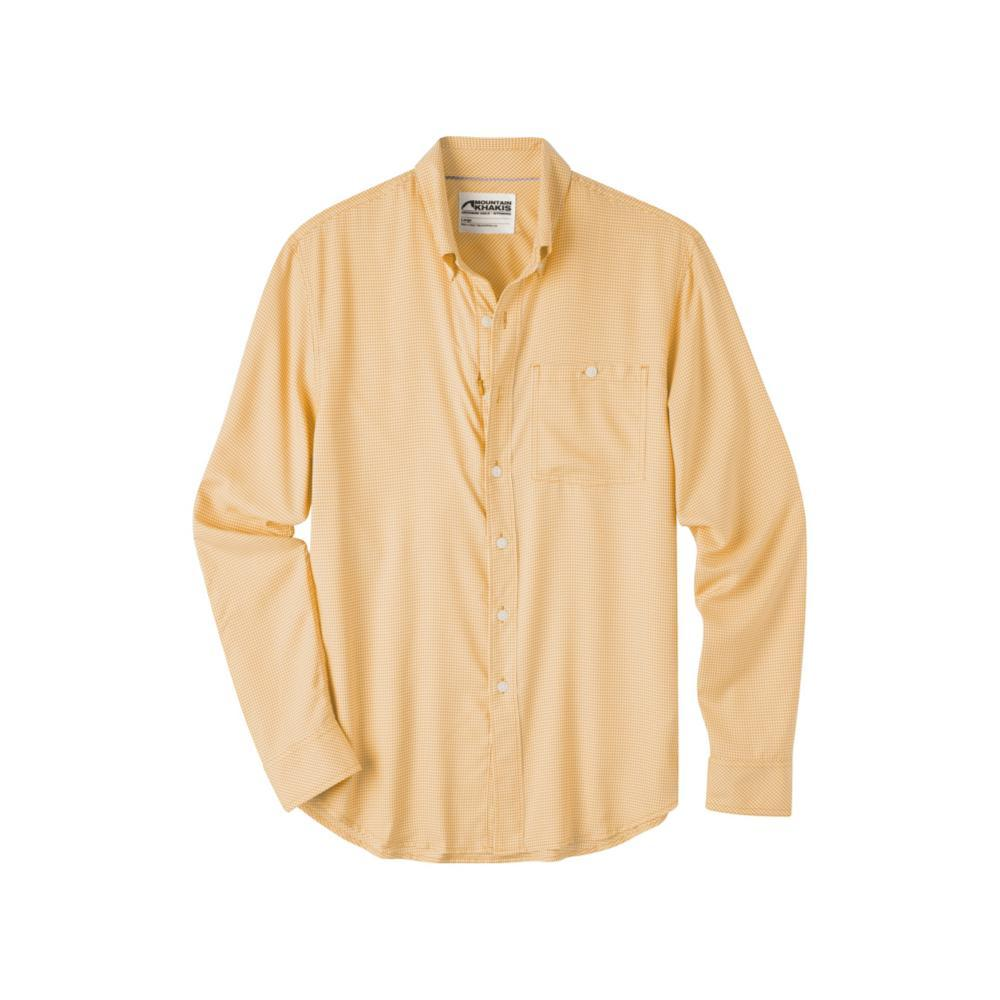 Mountain Khakis Men's Passport EC Long Sleeve Shirt SUNSET