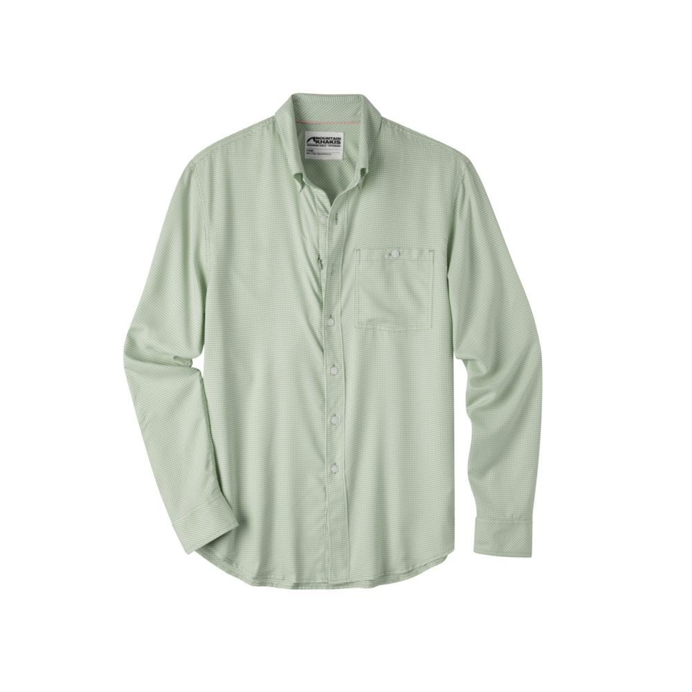 Mountain Khakis Men's Passport EC Long Sleeve Shirt SWEETPEA