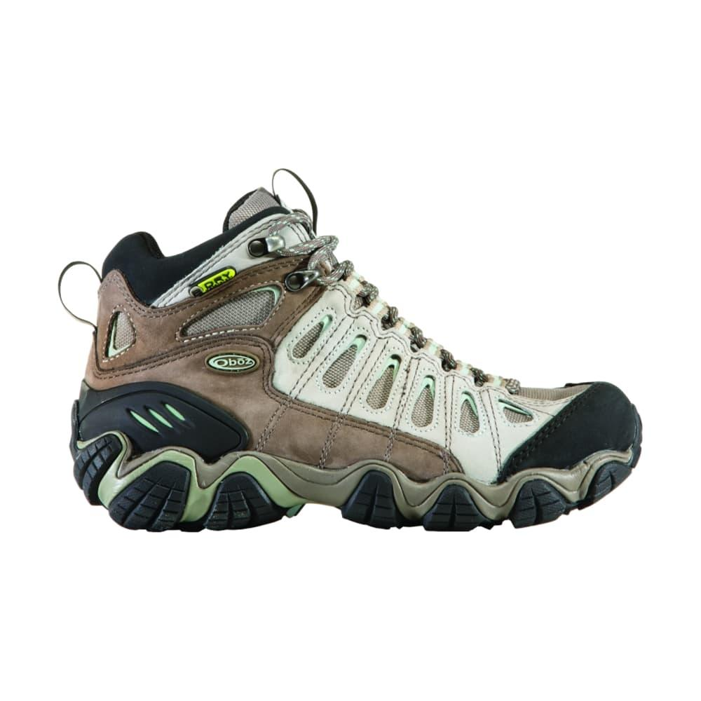 Oboz Women's Sawtooth Mid Waterproof Hiking Boots ICEBERG