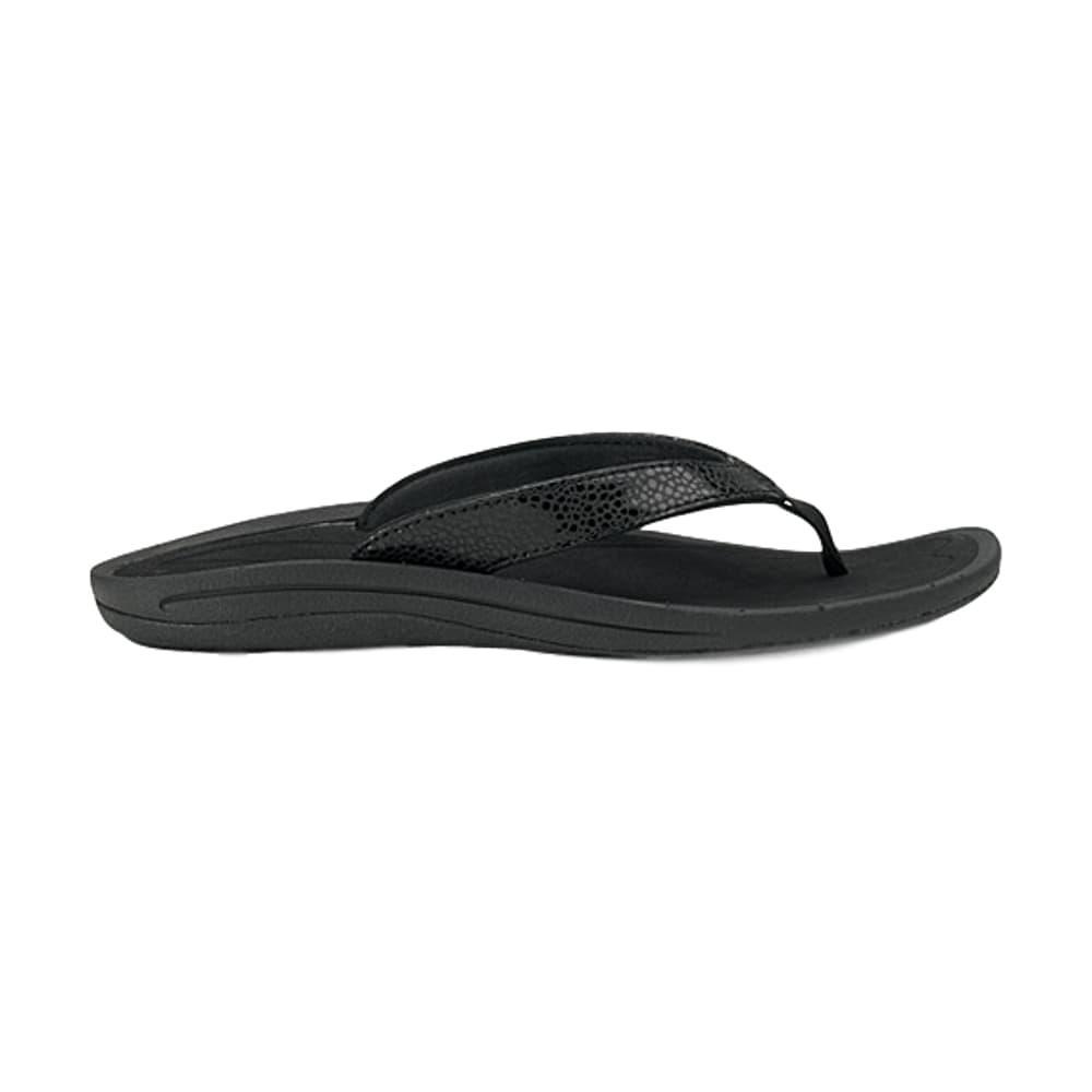 OluKai Women's Kulapa Kai Sandals BLACK