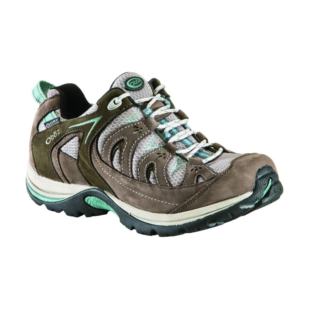 Oboz Women 's Mystic Low Waterproof Hiking Shoes BLUEBELL