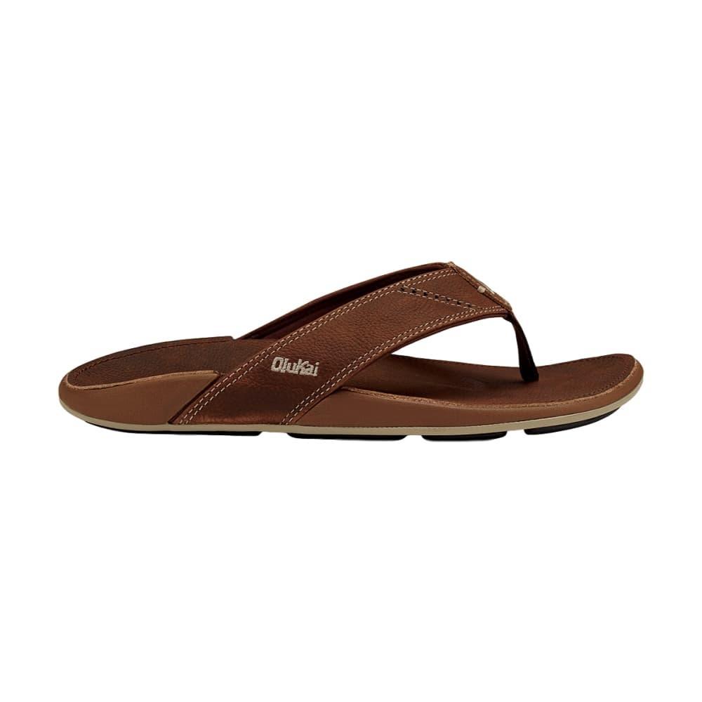 OluKai Men's Nui Sandals RUM