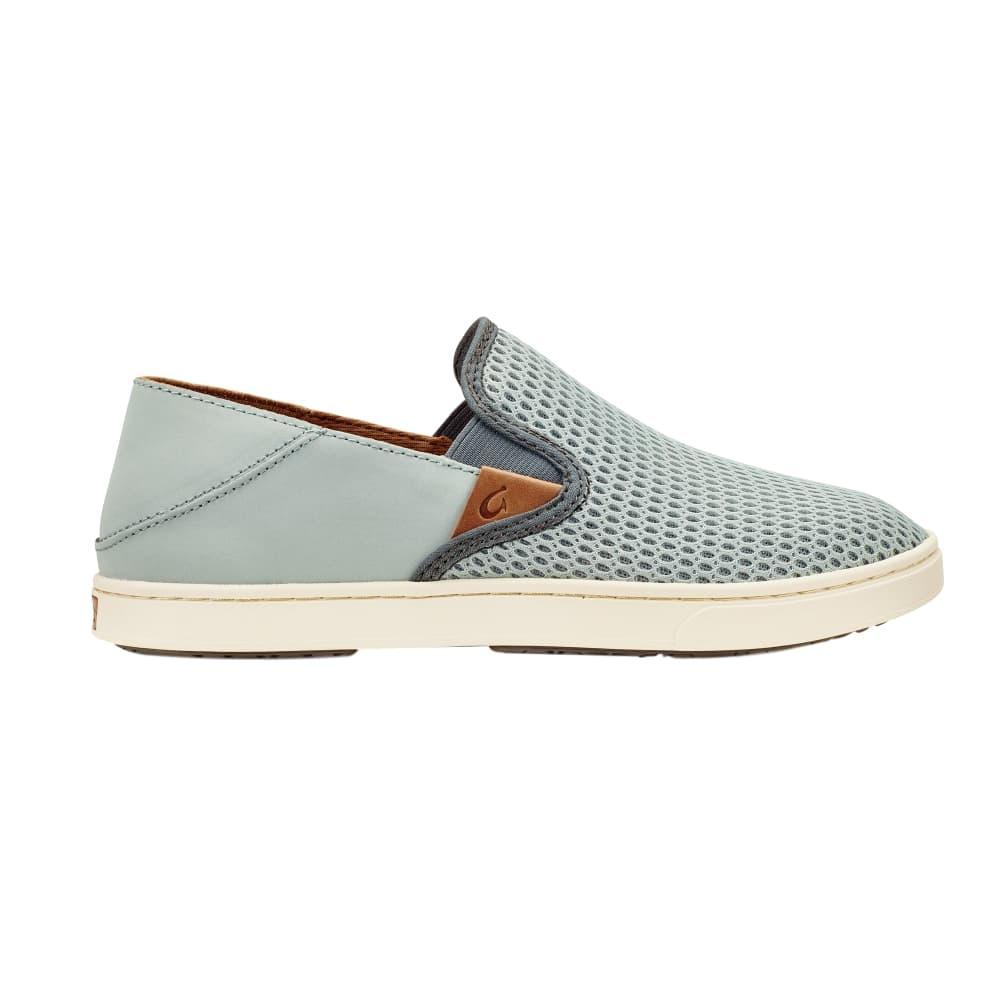 OluKai Women's Pehua Shoes PALEGREY