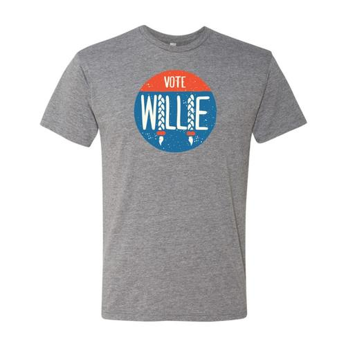 Outhouse Designs Unisex Vote Willie T-Shirt