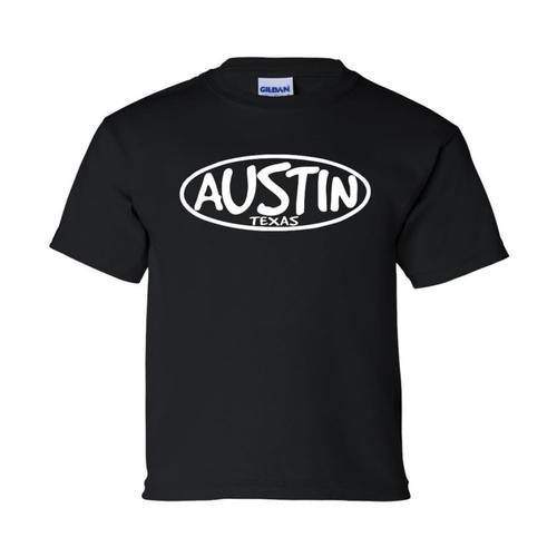 Outhouse Designs Unisex Keep Austin Weird T-Shirt Black