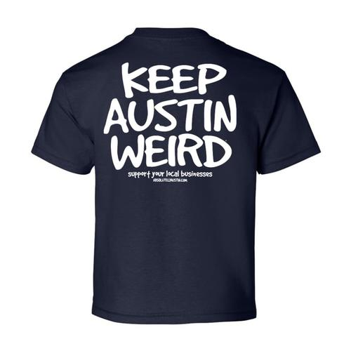 Outhouse Designs Men's Keep Austin Weird T-Shirt