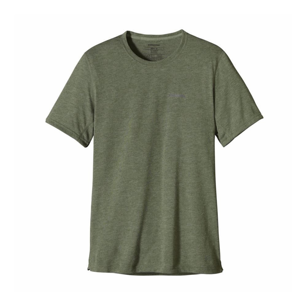 Patagonia Men's Short-Sleeved Nine Trails Shirt BUFG_GREEN