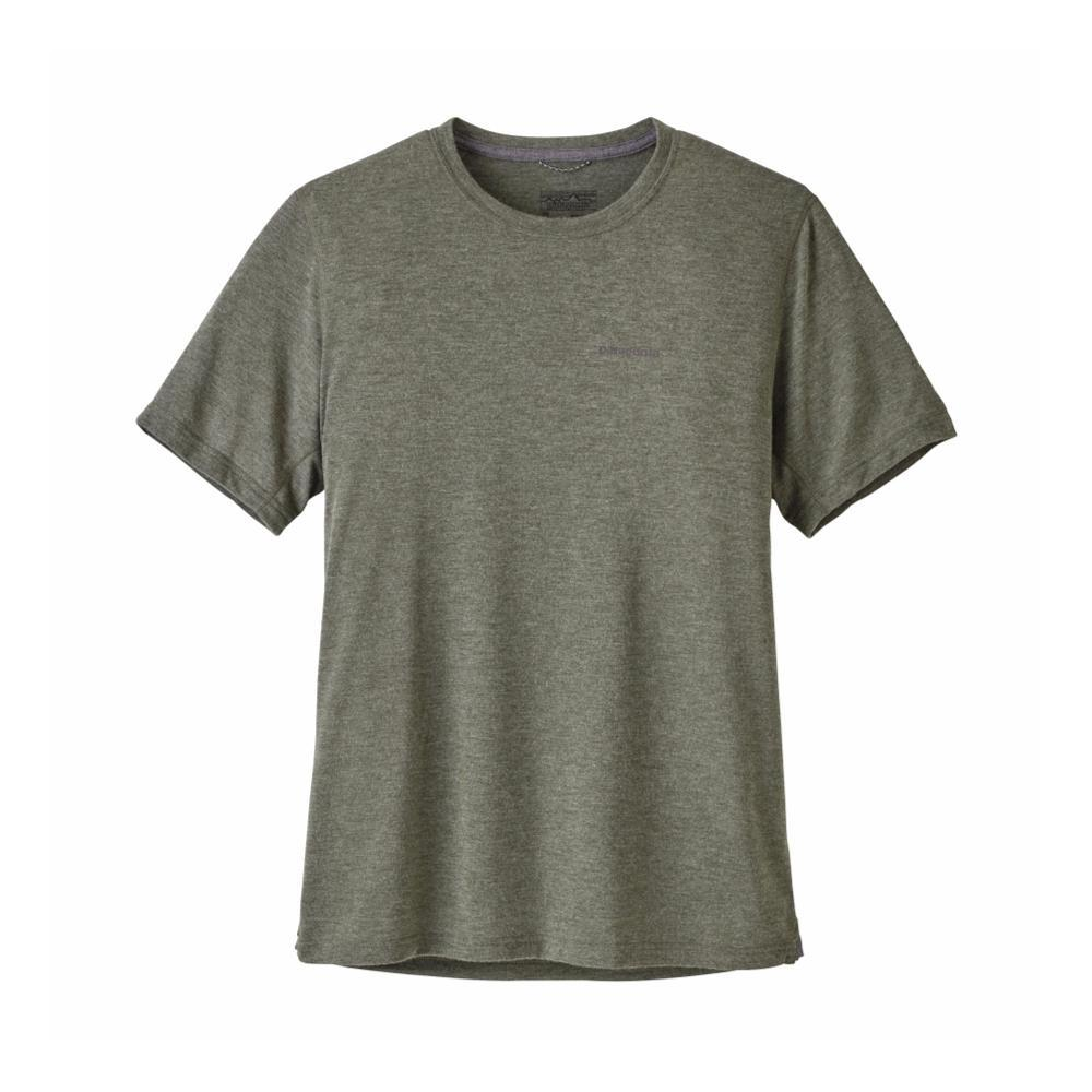 Patagonia Men's Short-Sleeved Nine Trails Shirt GLDG_GREEN