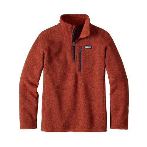 Patagonia Boys Better Sweater 1/4 Zip