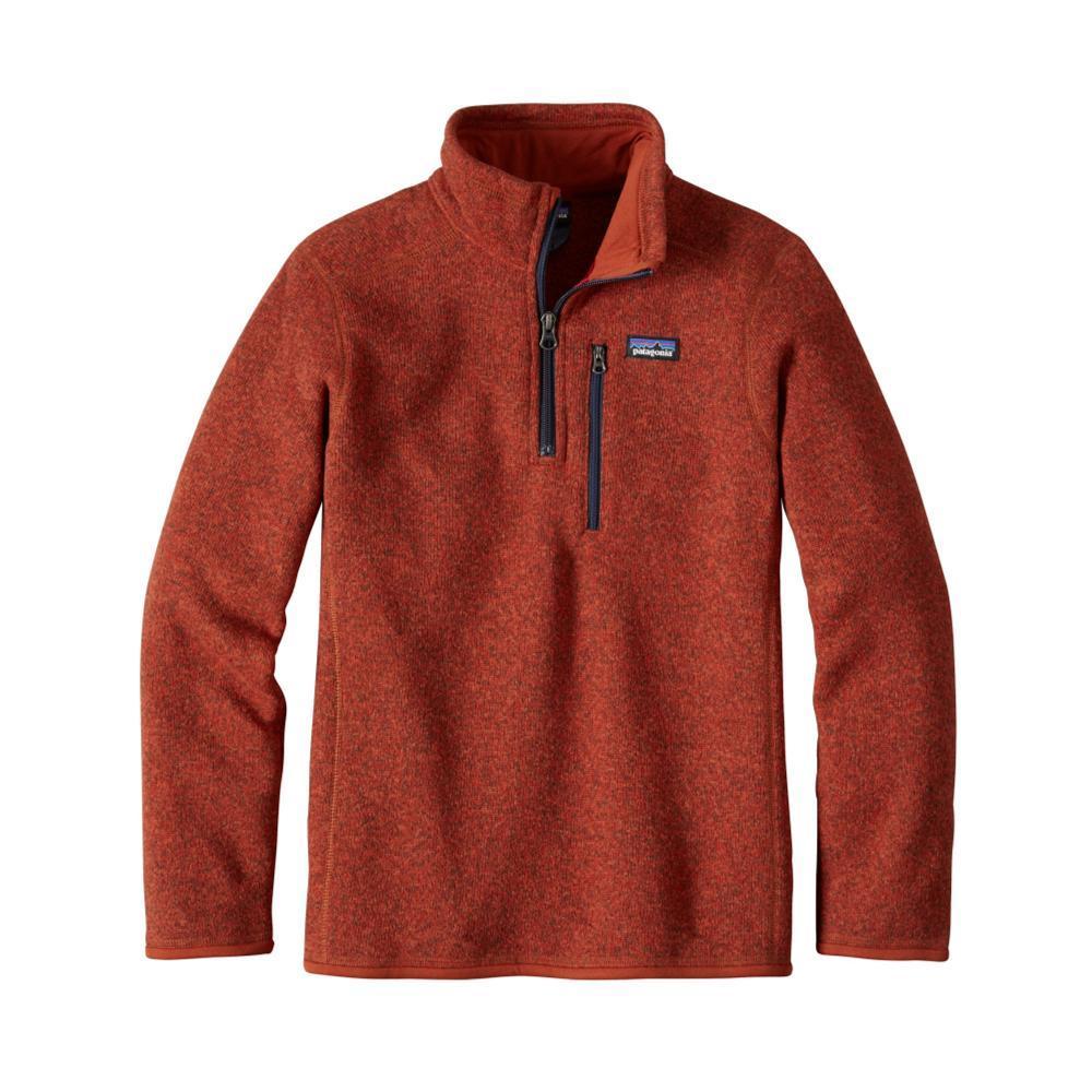 Patagonia Boys Better Sweater 1/4 Zip REDRTSR
