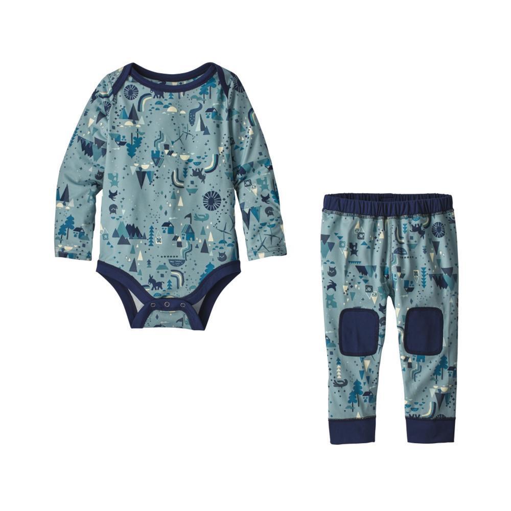 Patagonia Infant Capilene Set CABLUE_BHCA