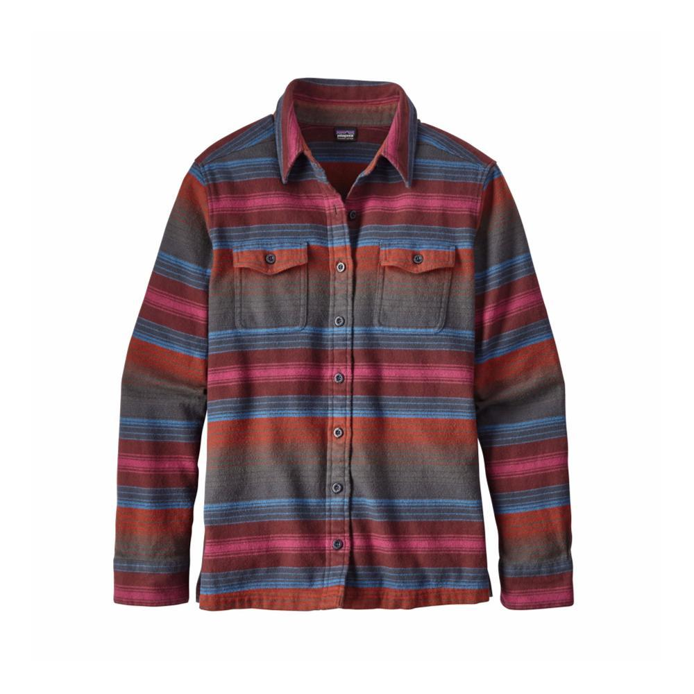 Patagonia Women's Long- Sleeved Fjord Flannel Shirt