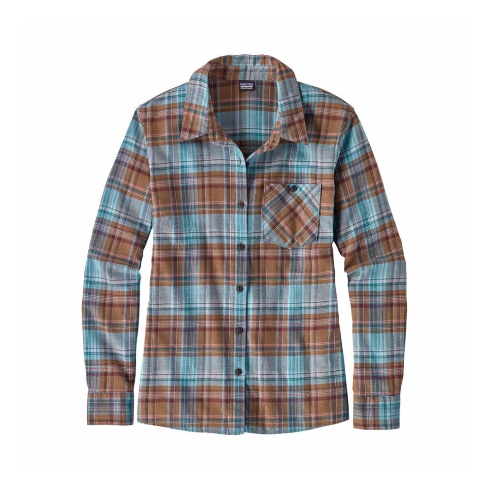Patagonia Women's Heywood Flannel Shirt CBRB_BROWN