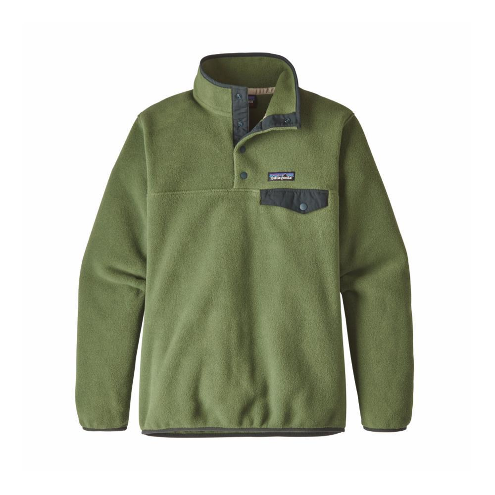 Patagonia Women's Lightweight Synchilla Snap-T Fleece Pullover BUFG_GREEN